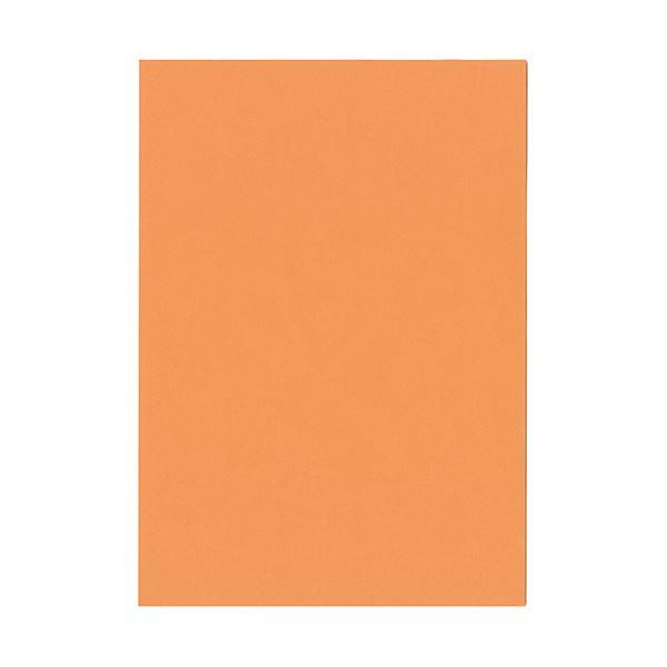 (まとめ) 北越コーポレーション 紀州の色上質A4T目 薄口 アマリリス 1冊(500枚) 【×5セット】