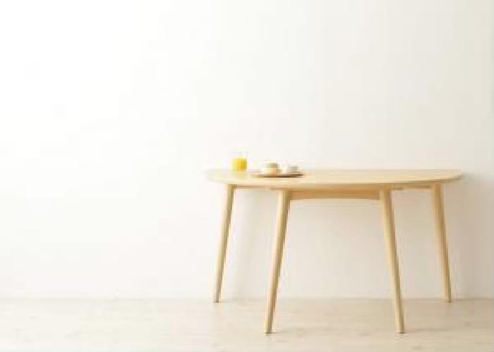 単品ダイニングテーブルW130ライトブラウン茶