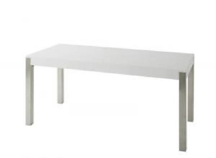 単品ダイニングテーブルW160ホワイト白