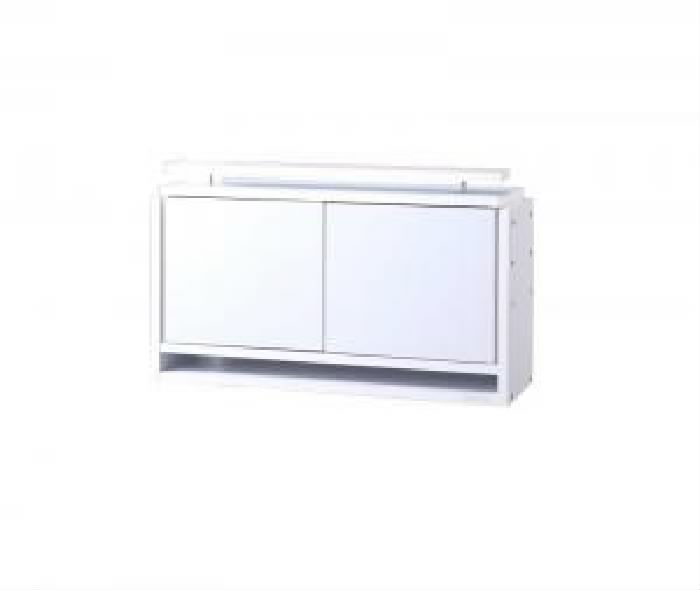 単品 コレクションラック ワイド 用 上置き ロータイプ (幅 83cm)(高さ 45cm)(奥行 29cm)(カラー ホワイト) 白