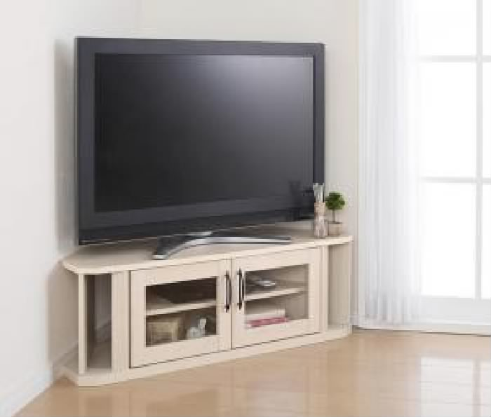 テレビ台 テレビボード TVボード 超!薄型コーナーテレビボード ( 収納幅 :100cm)( 収納高さ :33.9cm)( 収納奥行 :29cm)( 色 : ダークブラウン 茶 )