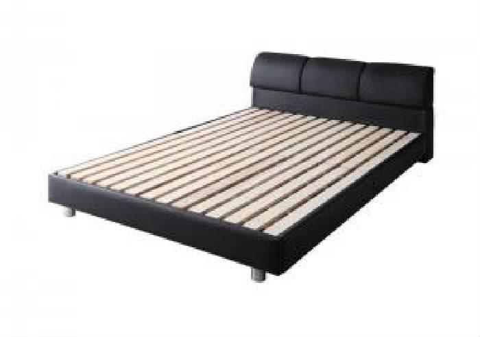 シングルベッド 白 デザインベッド用ベッドフレームのみ 単品 モダンデザインベッド( 幅 :シングル)( 奥行 :レギュラー)( フレーム色 : アイボリー 乳白色 )