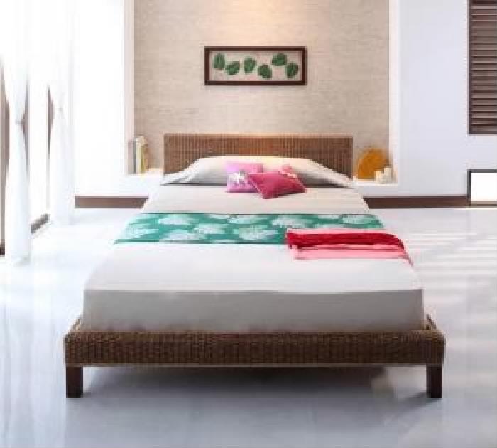 クイーンサイズベッド(Q×1)マットレス付きクイーン