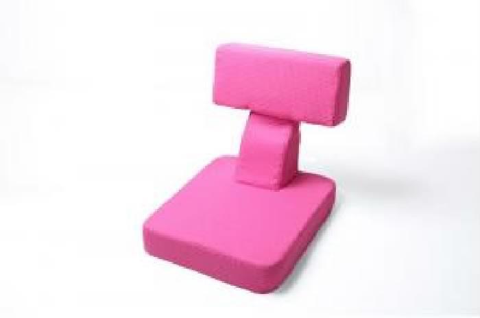 座椅子 (イス チェア) ゲームを楽しむ多機能座椅子 ( 幅 :1P)( 色 : ピンク )