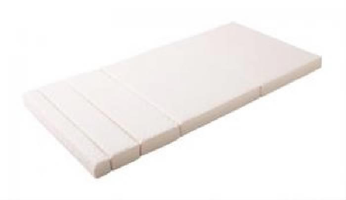 シングルベッド 白 パイプベッド用専用別売品(マット)単品 のびのびベッド( 幅 :シングル)( 色 : アイボリー 乳白色 )