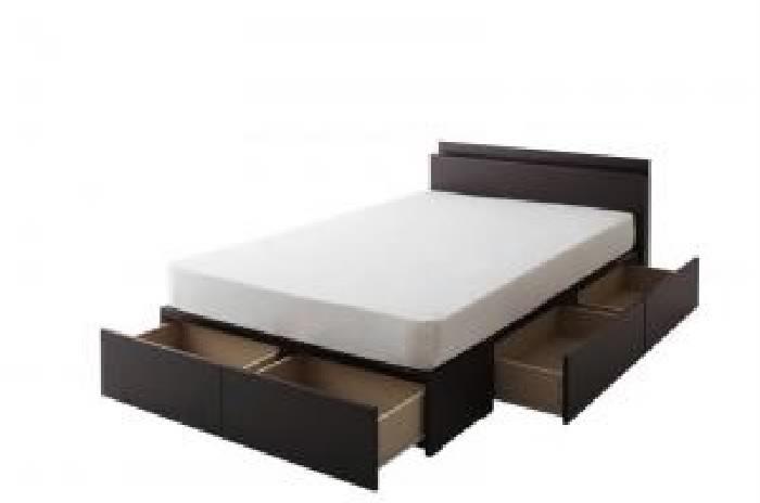 セミダブルベッド 白 黒 連結ベッド スタンダードボンネルコイルマットレス付き セット 連結ファミリー収納 整理 ベッド( 幅 :セミダブル)( 奥行 :レギュラー)( フレーム色 : ホワイト 白 )( 寝具色 : ブラック 黒 )( Aタイプ )