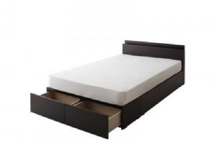 連結ファミリー収納ベッド マルチラススーパースプリングマットレス付き Bタイプ (対応寝具幅 シングル)(対応寝具奥行 レギュラー丈)(フレームカラー ホワイト)(寝具カラー アイボリー) シングルベッド 小さい 小型 軽量 省スペース 1人 ホワイト 白 アイボリー