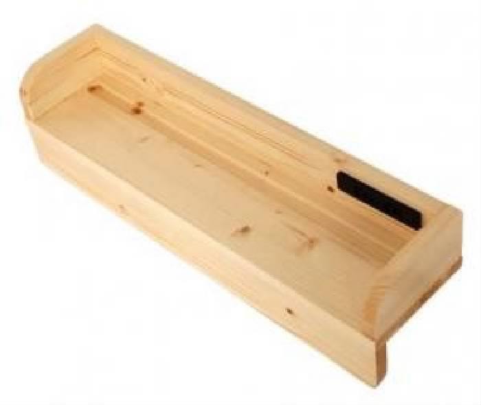 3段ベッド用専用別売品単品 タイプが選べる頑丈ロータイプ 低い 収納 整理 式3段ベッド( 色 : ナチュラル )( 60cm棚 )