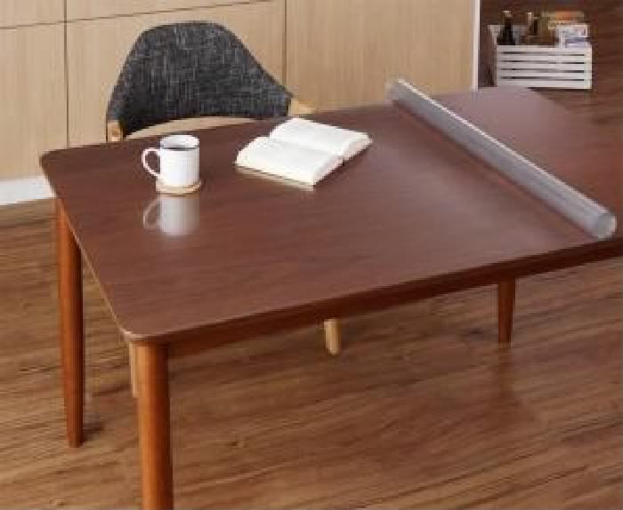 ダイニングラグ用テーブルマット単品 透明ラグ・シリコンマット スケルトシリーズ( サイズ :45×120cm)( 幅×高さ : 45×120cm )
