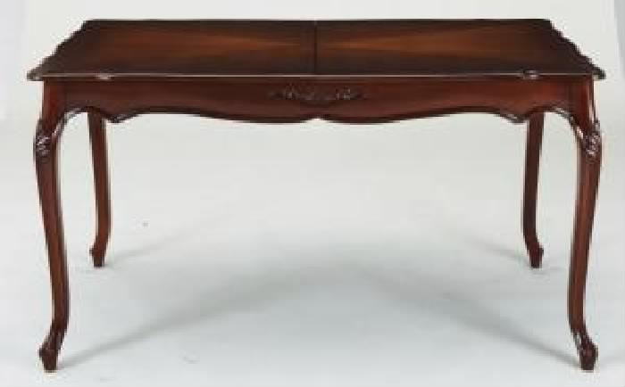 テイストファニチャー用ダイニングテーブル ダイニング用テーブル 食卓テーブル 机 単品 エクステンション 伸長式 伸びる 可変式 延長 クラシックダイニング( 机幅 :W140-180)( 机色 : ホワイト 白 )
