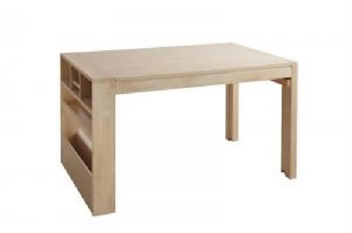 単品ダイニングテーブルW120-200ナチュラル