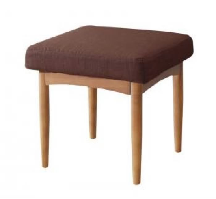 ダイニング用スツール イス バーチェア 椅子 カウンターチェア 単品 リビングでもダイニングでも使える ソファベンチ( イス座面幅 :1P)( 座面色 : ブラウン 茶 )( ナチュラル )