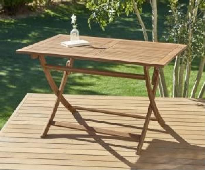 ガーデンファニチャーダイニング用テーブル単品 ベンチのサイズが選べる アカシア天然木 木製 ガーデンファニチャー( 机幅 :W120)( 机色 : アカシアナチュラル )