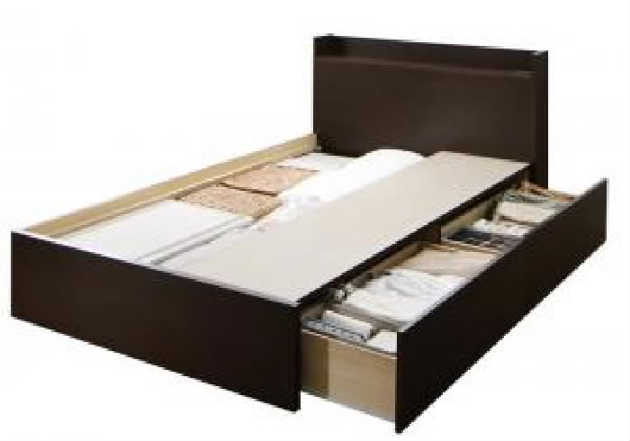シングルベッド 連結ベッド用ベッドフレームのみ 単品 連結 棚・コンセント付すのこ 蒸れにくく 通気性が良い 収納 整理 ベッド( 幅 :シングル)( 奥行 :レギュラー)( フレーム色 : ナチュラル )( お客様組立 Aタイプ )