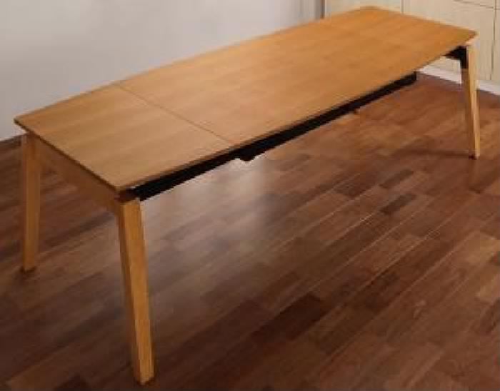 単品ダイニングテーブルW140-240ナチュラル