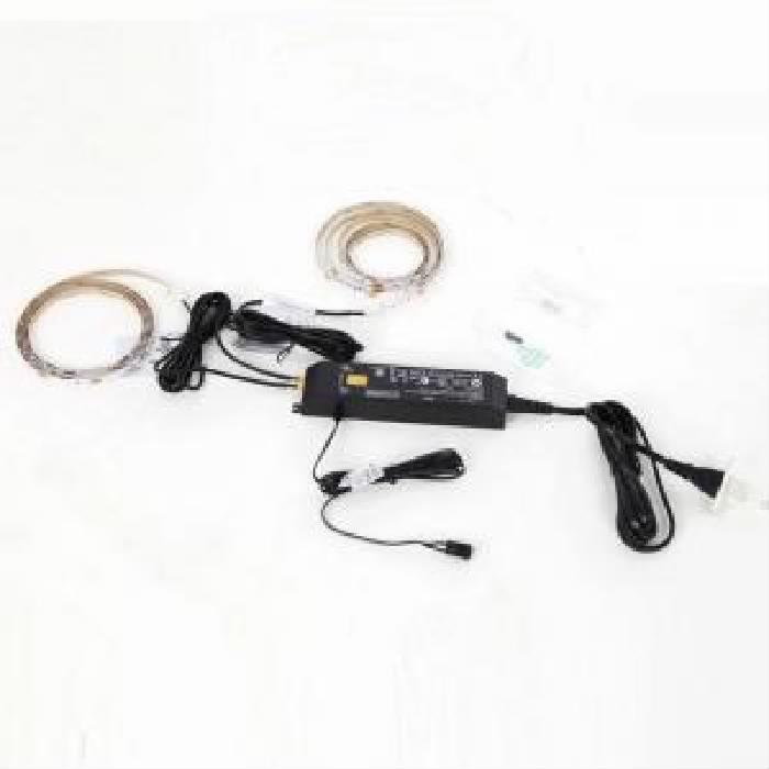 単品 LED付きコレクションラック ワイド 用 専用別売品 専用LEDテープ 高さ180cm用 (収納幅 1cm)(収納高さ 169cm)(収納奥行 0.1cm)(セット名 専用別売品)