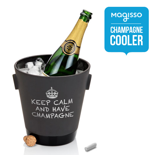 北欧雑貨 magisso クーリング・シャンパンクーラー ブラック Champagne cooler おしゃれ 人気