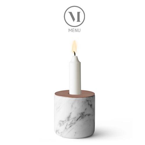 北欧雑貨 MENU マーブルチャンク(L) Chunk of Marble ホワイト/コッパー おしゃれ 人気