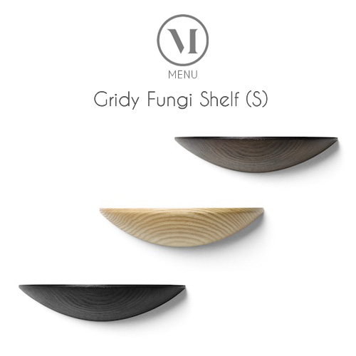 北欧雑貨 MENU グライディ ファンギシェルフ(S) Gridy Fungi Shelf 壁面シェルフ おしゃれ 人気