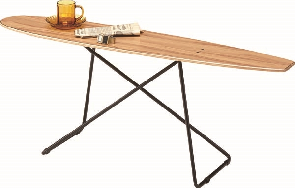 スケートボード テーブル カリフォルニアスタイルにサーフテイストをプラスしたおしゃれなテーブル