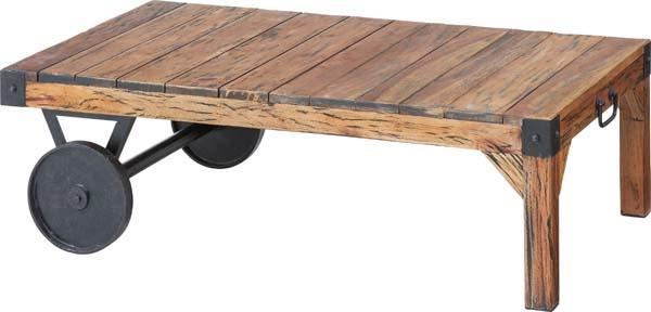 トロリー テーブル カリフォルニアスタイルにサーフテイストをプラスしたおしゃれなテーブル