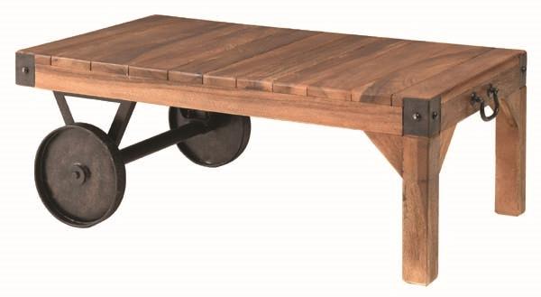 トロリー テーブル S カリフォルニアスタイルにサーフテイストをプラスしたおしゃれなテーブル