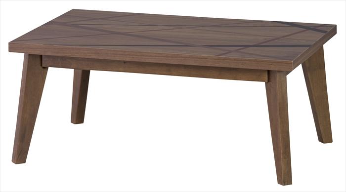 リビングテーブルこたつ コタツ リネア90BR【ブラウン】