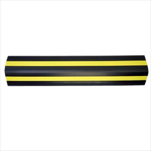大研化成工業 ケーブルプロテクター 黒(黄色ライン入り) 50Φ×1m  【abt-1396115】【APIs】