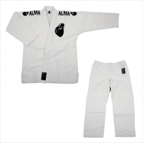 ALMA アルマ レギュラーキモノ 国産柔術衣 M1 白 上下 JU1-M1-WH  【abt-1223572】【APIs】