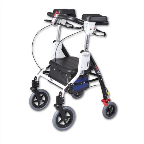 アームフィットEX 室内外兼用歩行車 肘置パッド付 ブルー AREX-590E  【abt-1182258】【APIs】