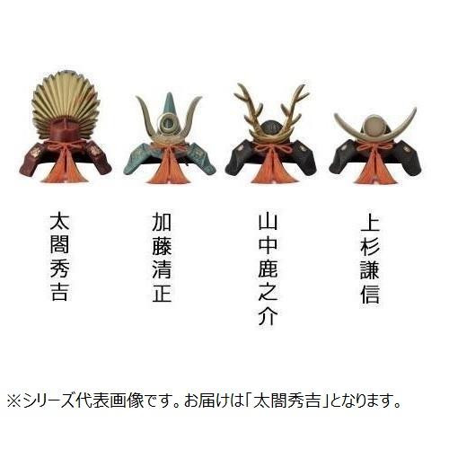 高岡銅器 鉄製置物 豆大兜 太閤秀吉 165-05  【abt-1422217】【APIs】