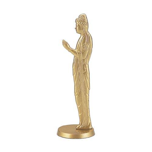 インテリアとしても置ける数珠掛です。 高岡銅器 アルミ製仏像 数珠掛け 願い 小 167-05  【abt-1422247】【APIs】
