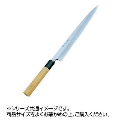 白三鋼が使用されている柳刃包丁。 東一誠 柳刃刺身包丁 210mm 001041-000  【abt-1325295】【APIs】
