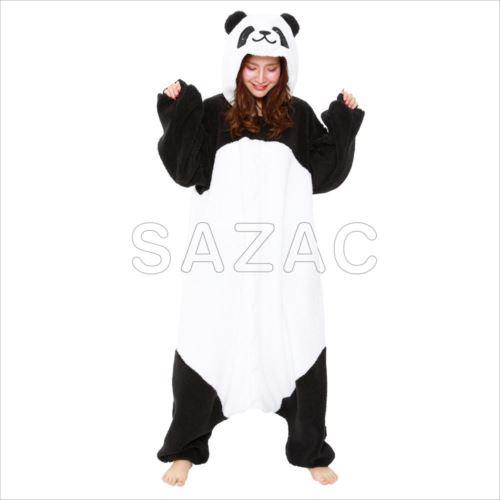 サザック フリース着ぐるみ ボアパンダ フリーサイズ 2893  【abt-1418159】【APIs】