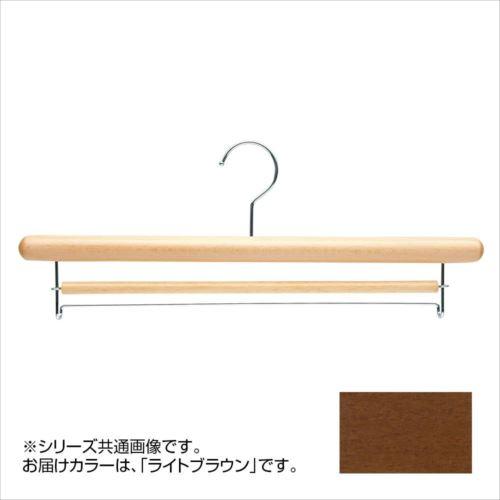 日本製 木製ハンガーボトム用 5本セット ライトブラウン T-6010 幅42cm×厚みΦ2.5cm 上下式バー付  【abt-1453717】【APIs】