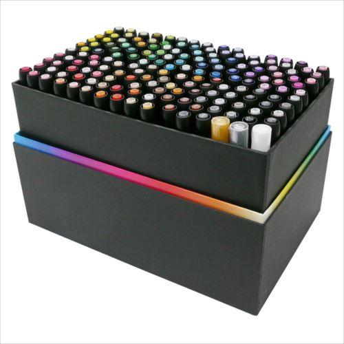 ルプルーム 168色Aセット(黒軸) 3000B-168A  【abt-1383724】【APIs】