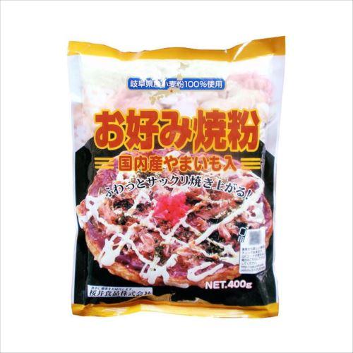 桜井食品 お好み焼き粉 400g×20個  【abt-1420235】【APIs】