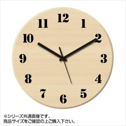 MYCLO(マイクロ) 壁掛け時計 ウッド素材(メープル) 丸型 23cm 木製時計 com408  【abt-1461753】【APIs】
