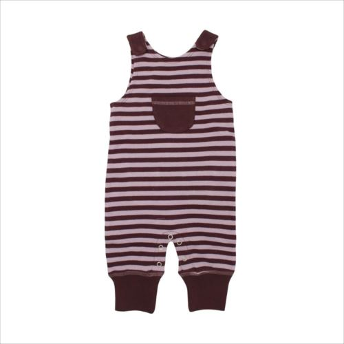 L'ovedbaby Stripe-A-Pose Collection キッズ ストライプ ハーレム ロンパー sap-k414 ラベンダー/エッグプラント・3歳  【abt-1352865】【APIs】