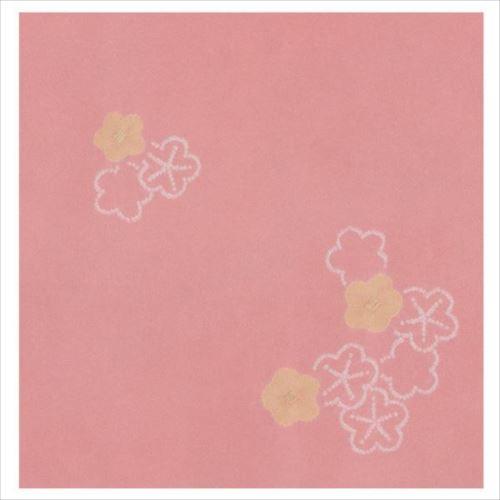 宮井 ふろしき 絹75cm幅 梅がさね ピンク 11-5513-15  【abt-1364973】【APIs】