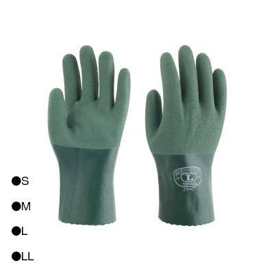 東和コーポレーション(TOWA) フルコート手袋 耐油トワロンハード パワーグリーン 10双 565  【abt-1437661】【APIs】