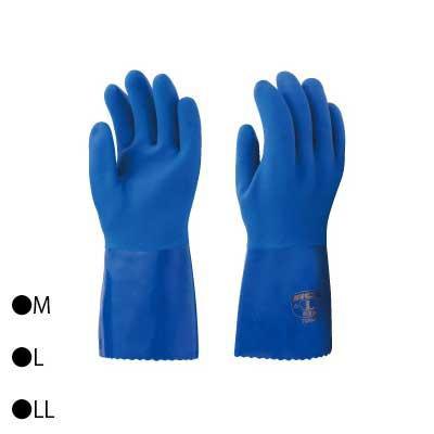 東和コーポレーション(TOWA) 防寒用手袋 耐油ビニスター防寒用 10双 ブルー 658  【abt-1437875】【APIs】
