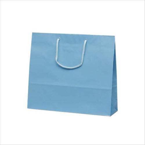 ファインバッグ 手提袋 330×100×290mm 50枚 ブルー 1177  【abt-1423729】【APIs】