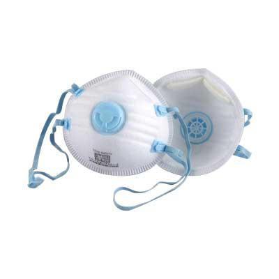 トーヨーセフティー(TOYO SAFETY) 防じんマスク排気弁付 20入 1732-A  【abt-1229380】【APIs】