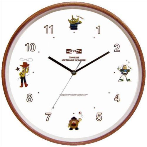 ディズニー ウッドパーツクロック 壁掛け時計 トイ・ストーリー CLOCK63606  【abt-1094410】【APIs】