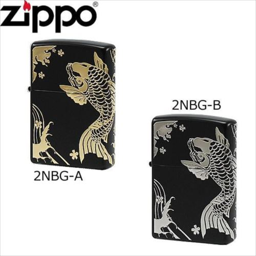 ZIPPO(ジッポー) ライター 和柄 鯉  【abt-1117602】【APIs】