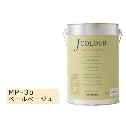 ターナー色彩 水性インテリアペイント Jカラー 4L ペールベージュ JC40MP3B(MP-3b)  【abt-1152420】【APIs】