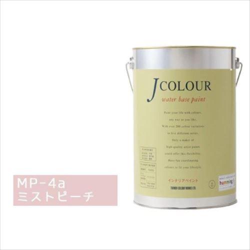 ターナー色彩 水性インテリアペイント Jカラー 4L ミストピーチ JC40MP4A(MP-4a)  【abt-1152423】【APIs】