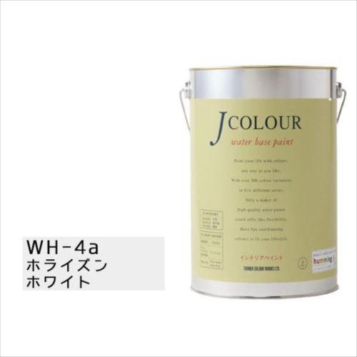 ターナー色彩 水性インテリアペイント Jカラー 4L ホライズンホワイト JC40WH4A(WH-4a)  【abt-1152459】【APIs】