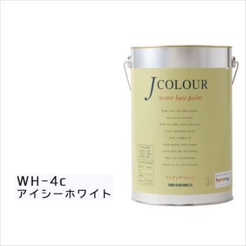 ターナー色彩 水性インテリアペイント Jカラー 4L アイシーホワイト JC40WH4C(WH-4c)  【abt-1152461】【APIs】